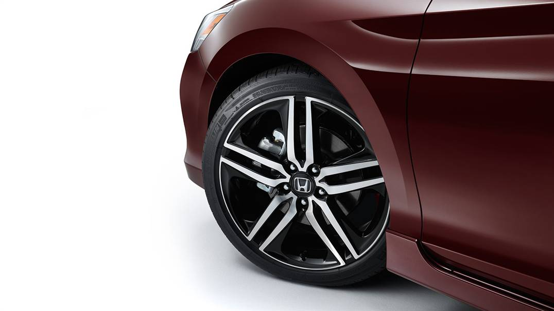 "2013-2017 Honda Accord 19"" 5-Spoke Slotted Wheels (each) - 42700-T2A-KIT"