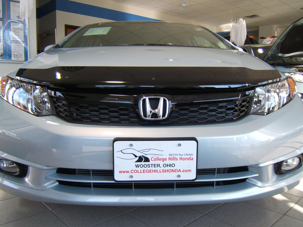 2012 Honda Civic 4dr Front Grille Upgrade 71122 Tr7 Kit