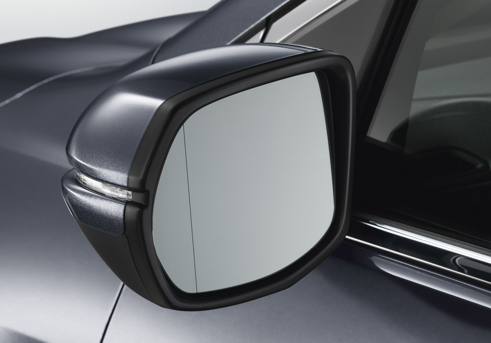 honda cr  expanded view mirror  heated  tla