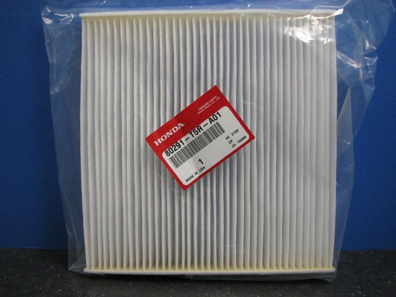 Cabin Air Filter >> Genuine Honda Cabin Air Filter - 80291-T5R-A01