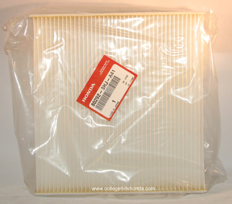 genuine honda cabin air filter  tz