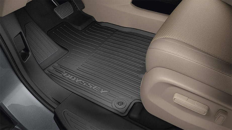 Carpet Floor Mats >> 2018-2019 Honda Odyssey All Season Floor Mats - 08P17-THR-100