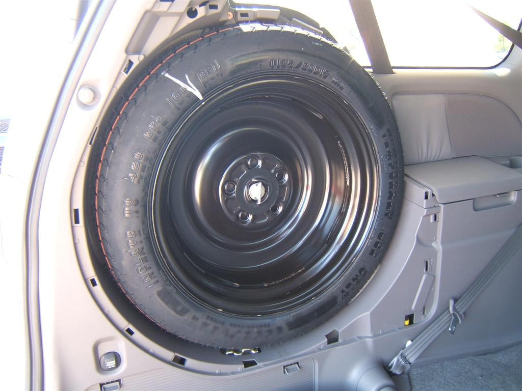 location of spare tire chrysler pacifica  location  get