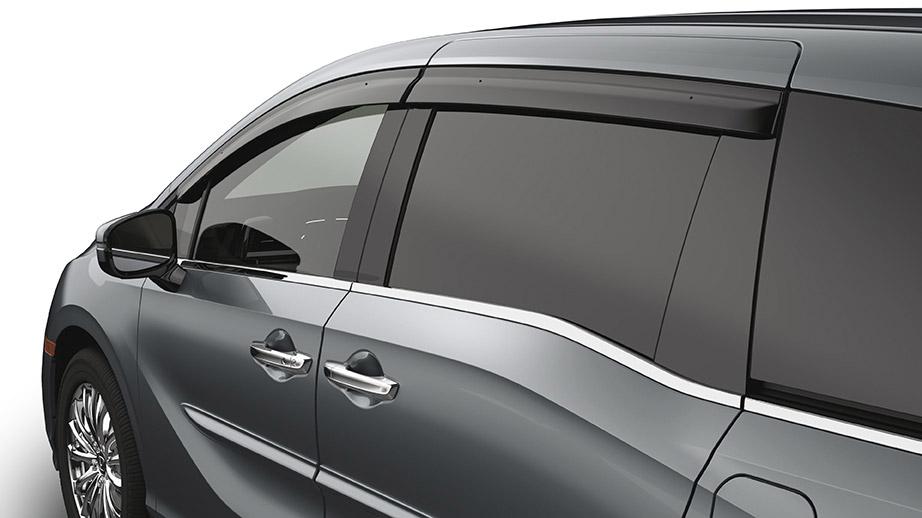 2018 2019 Honda Odyssey Door Visors 08r04 Thr 101