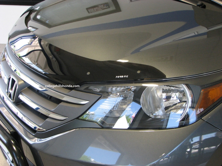 2012 and up Honda CR-V front air deflector by Form Fit.