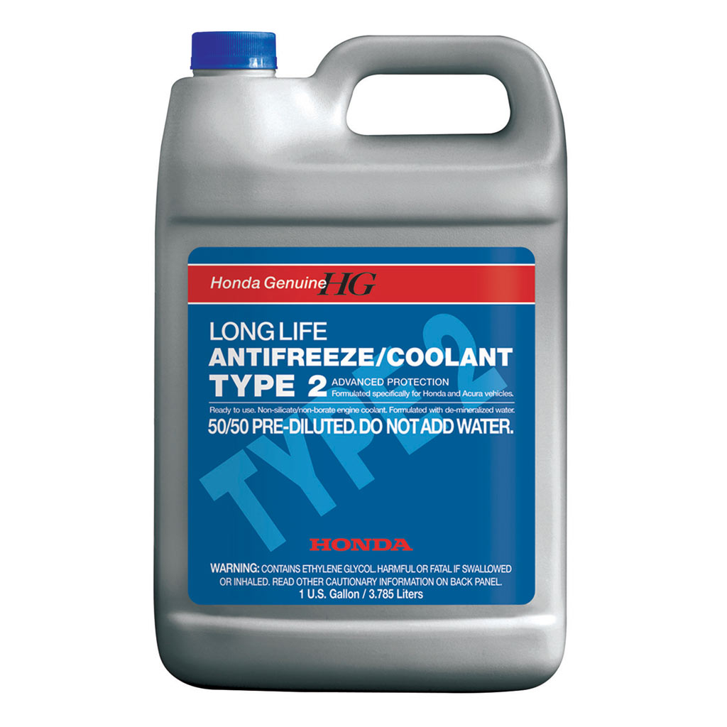 Genuine Honda Type 2 Antifreeze Coolant Ol999 9011