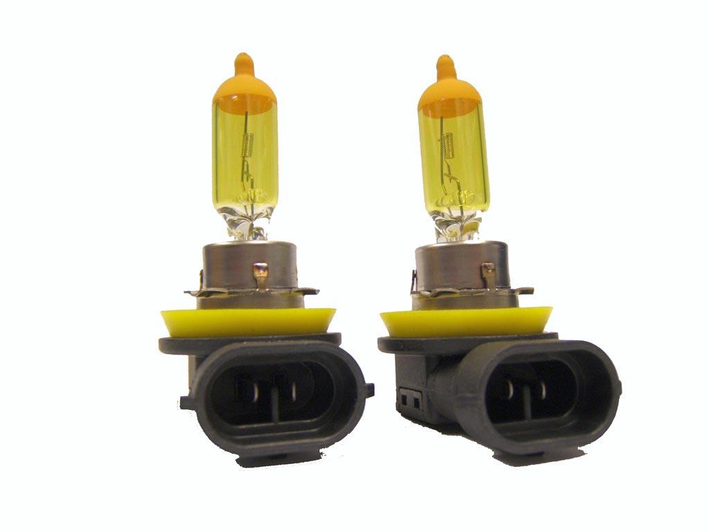 Putco H11 Jet Yellow Fog Light Bulbs Pair 230011jy