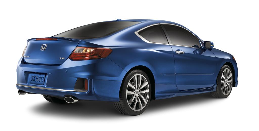2013 2015 Honda Accord 2dr Rear Underbody Spoilers 08f03 T3l