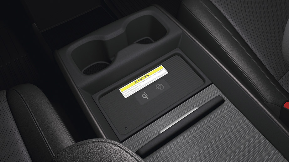 2018-2020 honda odyssey wireless charging pad